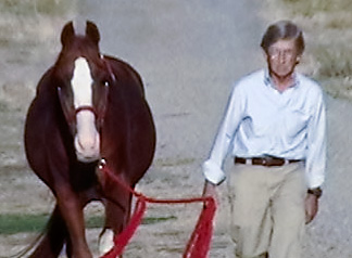 Gary Brandt and Aul Magic at age 25, Sept. 2010